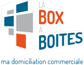 Ma domiciliation commerciale La box à boites